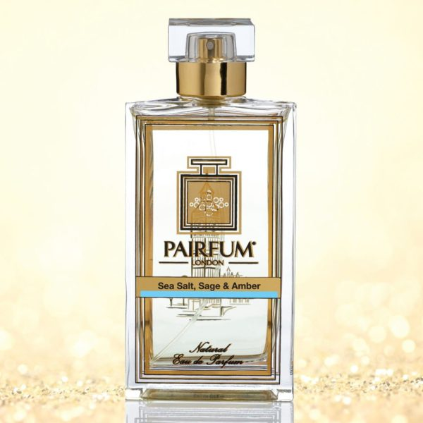 Eau De Parfum Bottle Sea Salt Sage Amber Pure