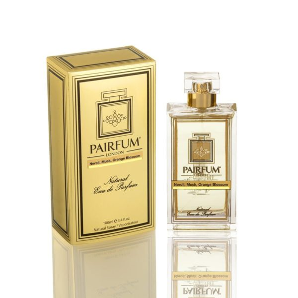 Pairfum Eau De Parfum Gold Bottle Carton Neroli Musk Orange Blossom