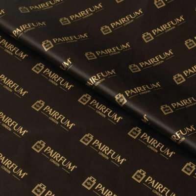 Pairfum London Black Gold Tissue Paper Gift Wrap