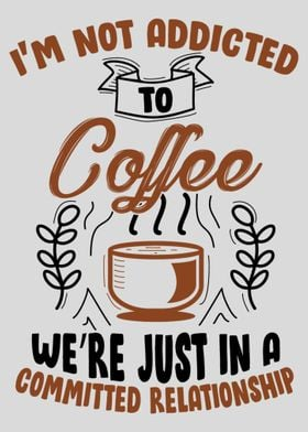 Funny Coffee Quotes Poster By Max Ronn Displate