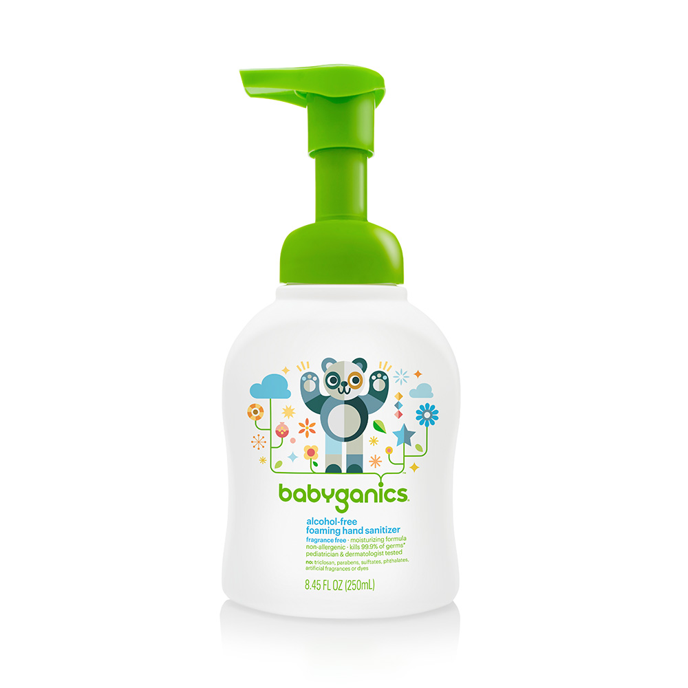 Ewg Skin Deep Babyganics Alcohol Free Foaming Hand Sanitizer