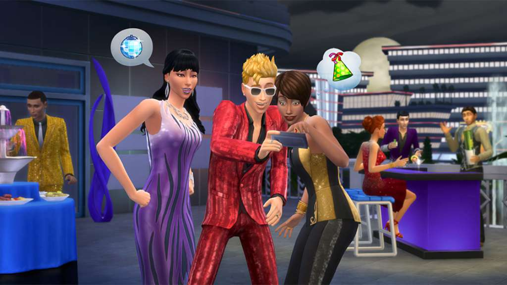 The Sims 4: Luxury Party Stuff