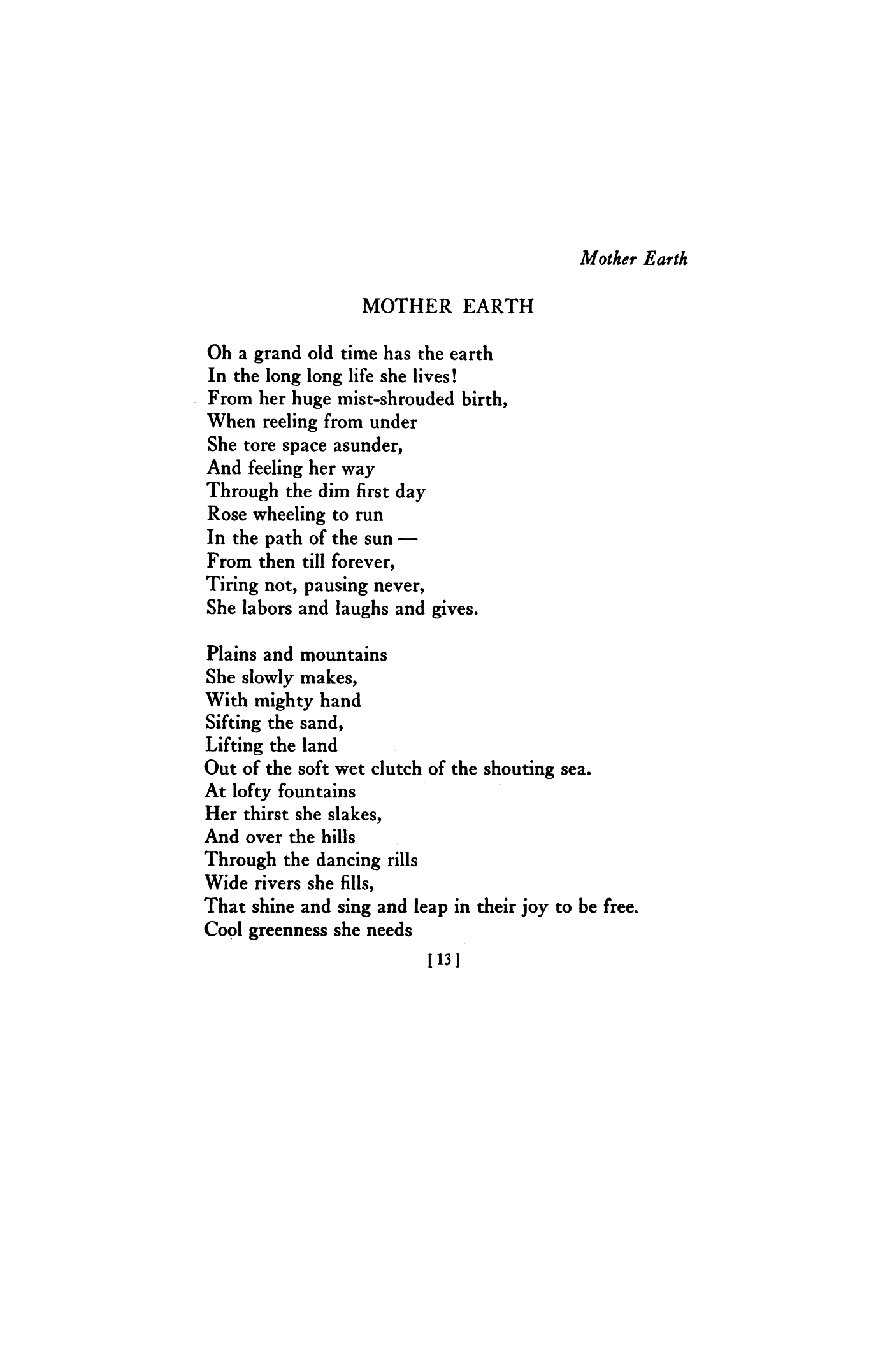 Poems About Mother 2