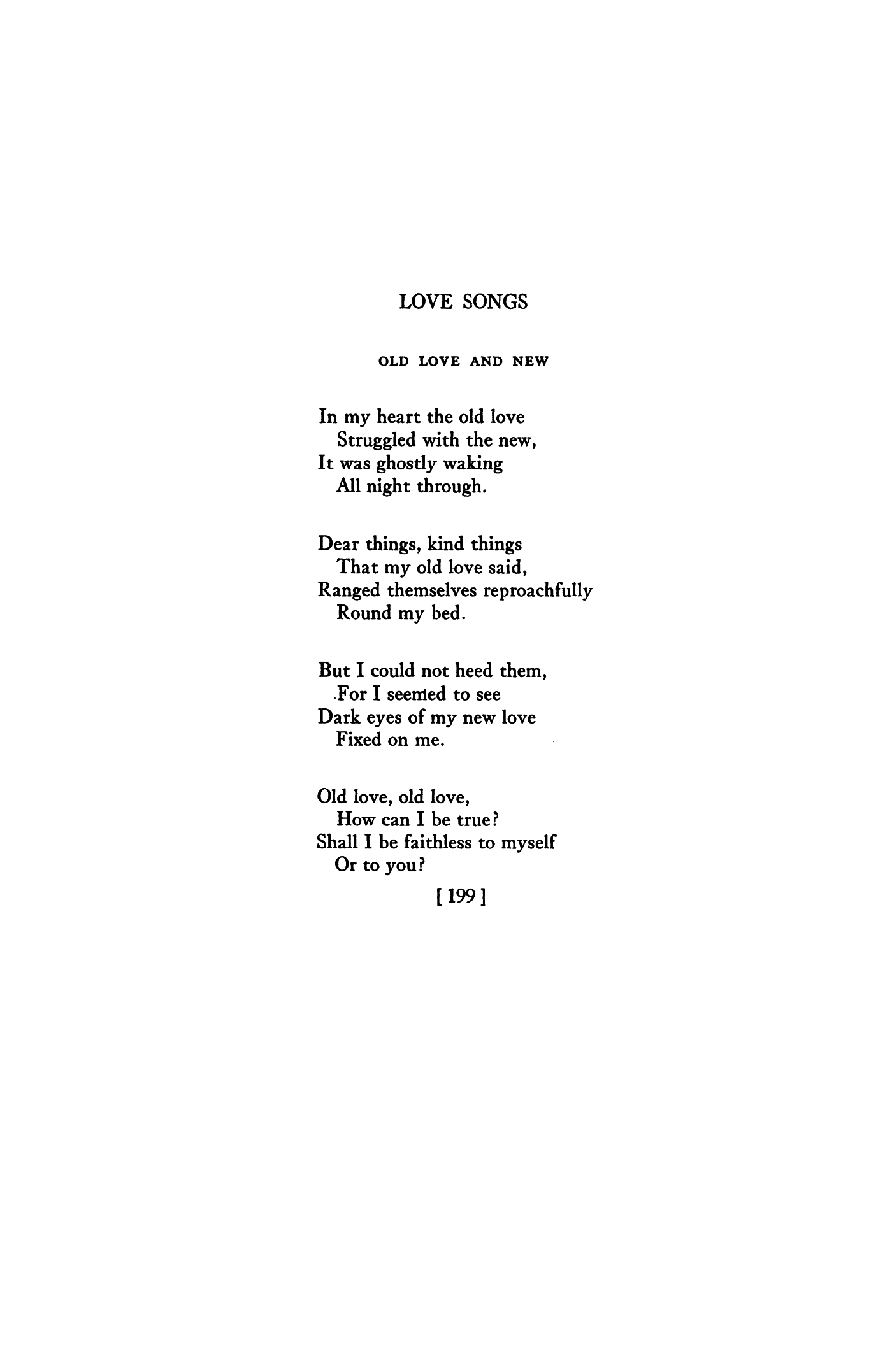Old Love Poems 3