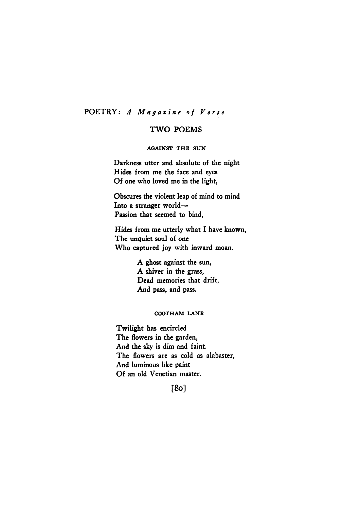 Poems About The Sun 7