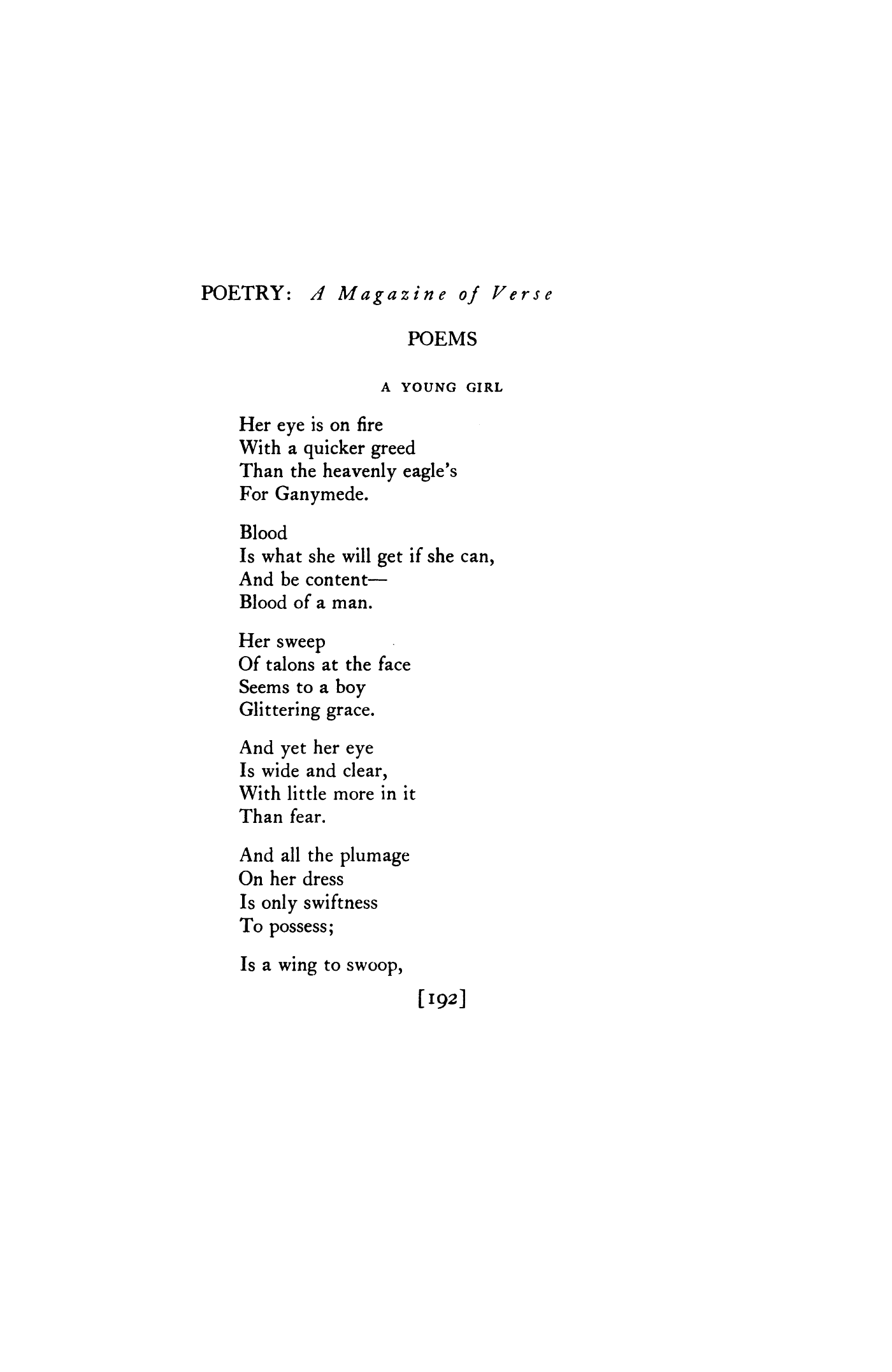 Poems About A Girl 6