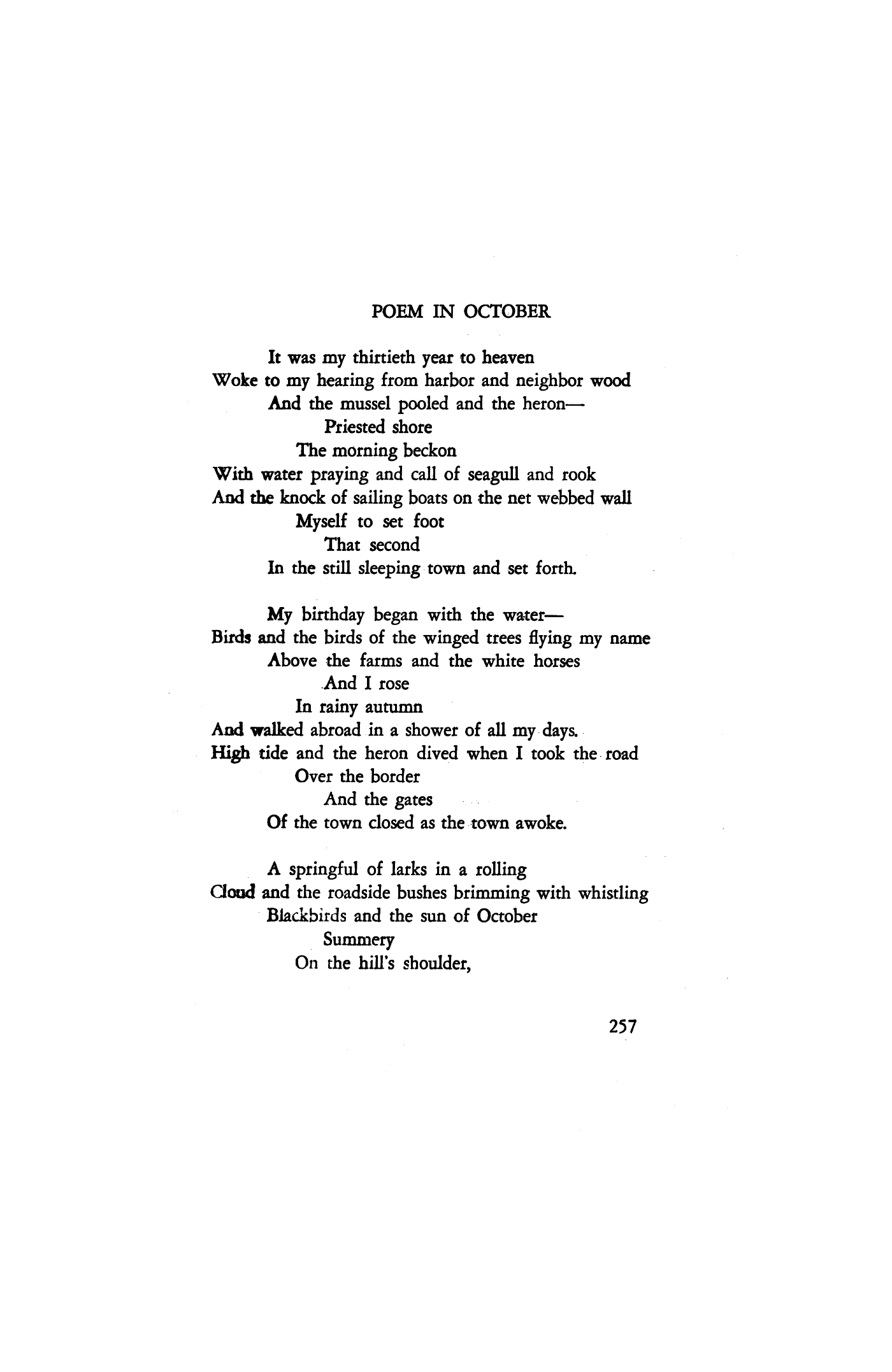 Poems About February 7