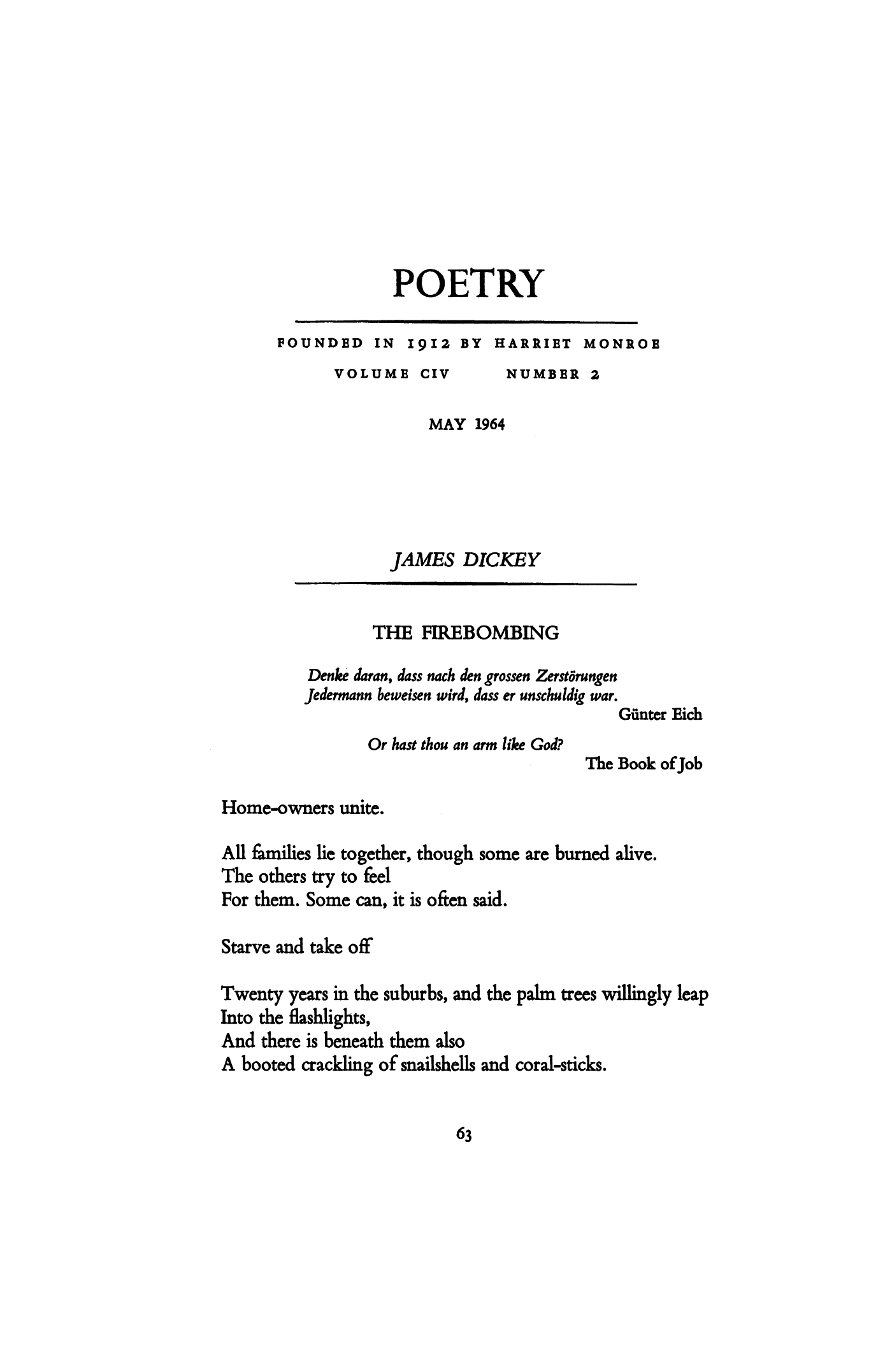 James Dickey Poems 5