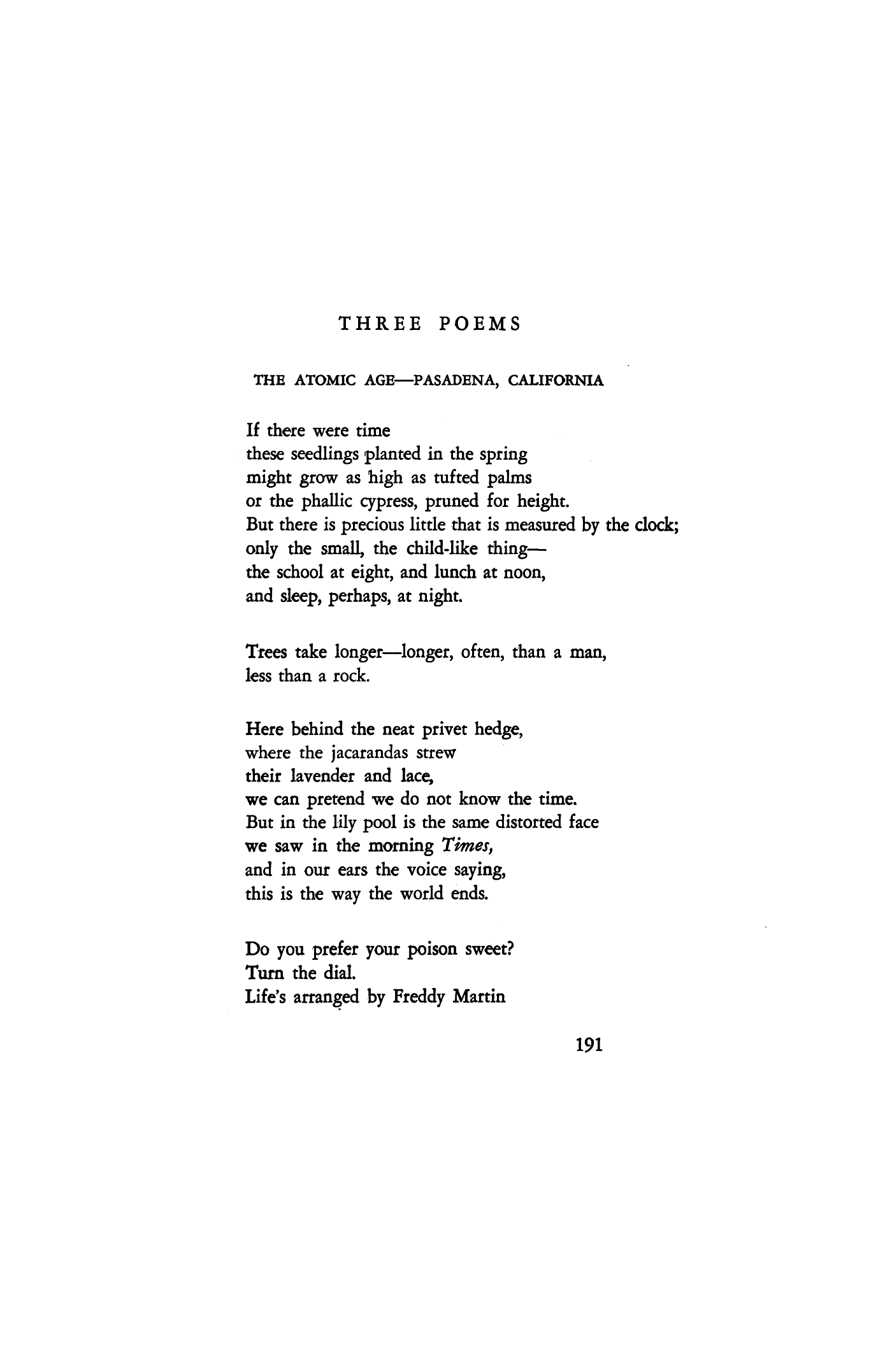 Poems About California 5