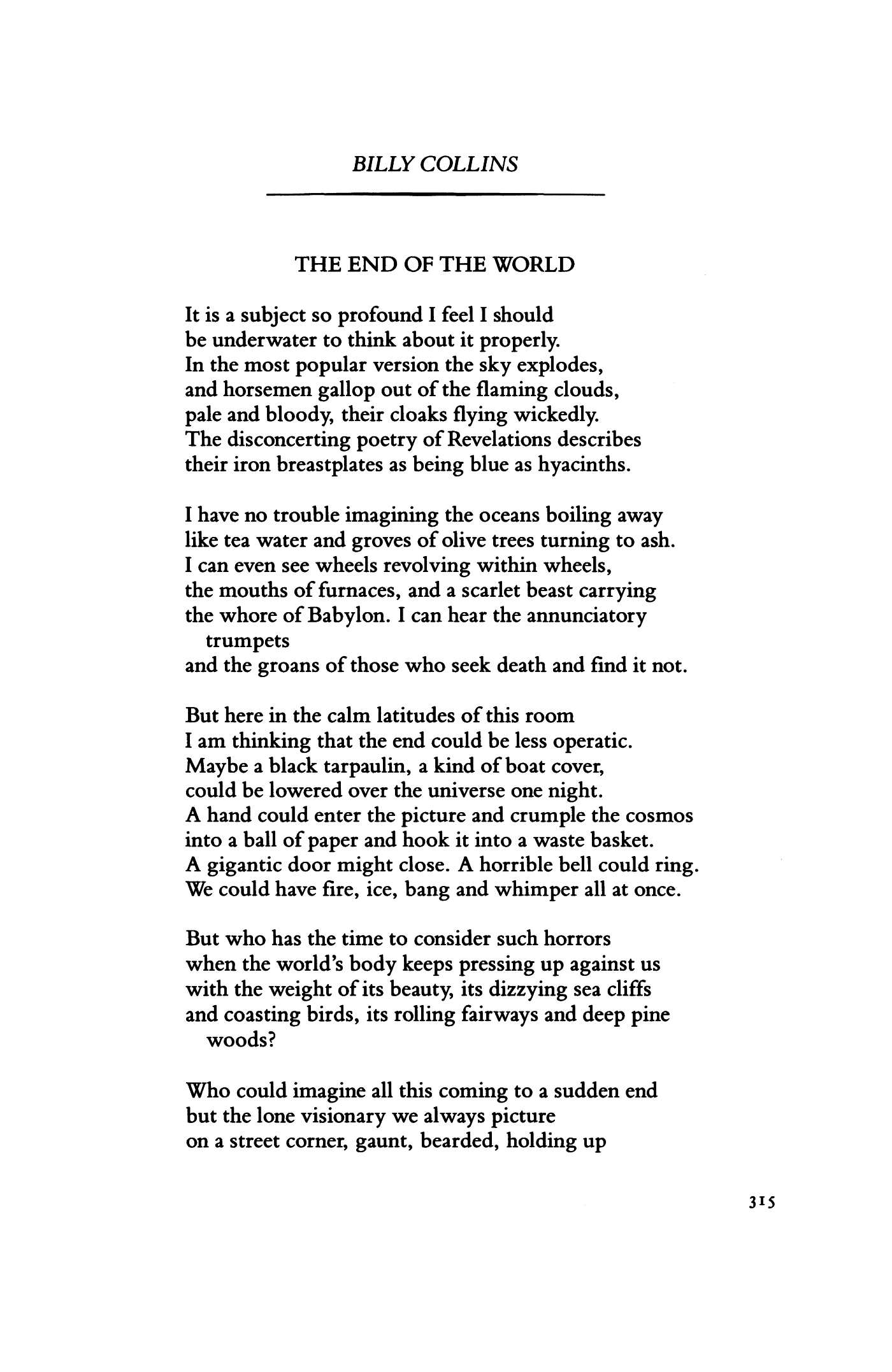 Poems About The End Of The World 7