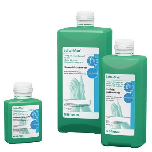 Softa Man Hand Sanitiser Medical Hygiene Products