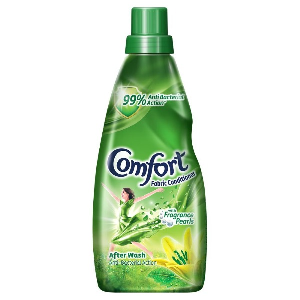 Comfort Fabric Conditioner Green Anti Bacterial Action