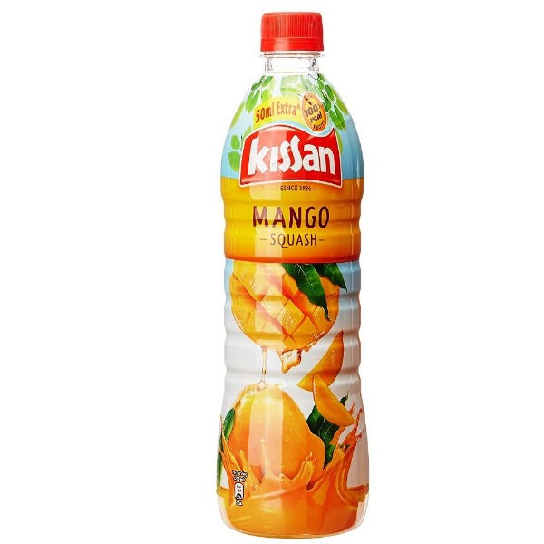 Kissan Squash Mango  , 750 ml