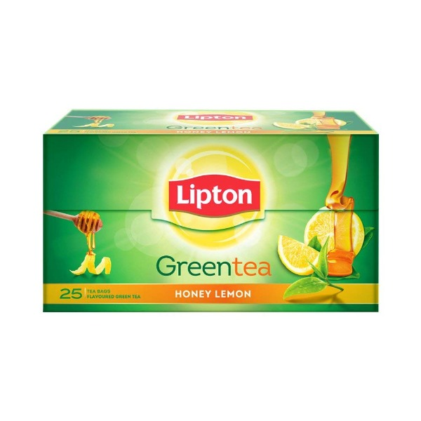 Lipton Green Tea Honey Lemon ( Tea Bag ) 25 Nos , 1 Box