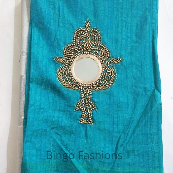 CODE : SBG 19 :: On Demand !!! kerala Tissue saree collections...(BLUE)