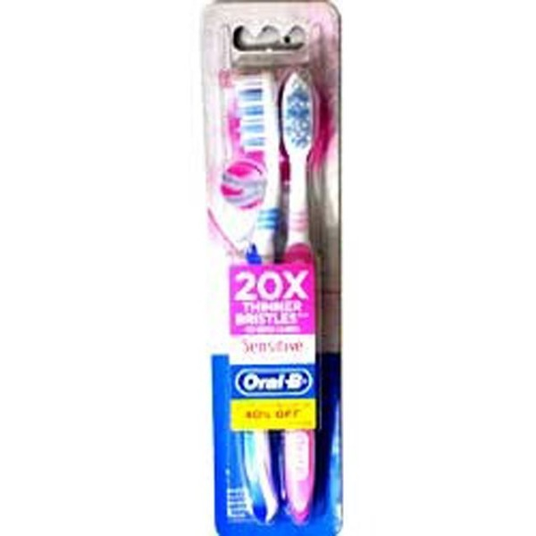 Oral-B Ultrathin Sensitive Toothbrush Extra Soft