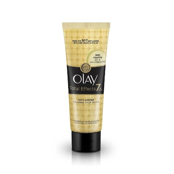 Olay Total Effects 7 in 1 Anti-ageing foaming face wash ( Cleanser ) , 100 gms