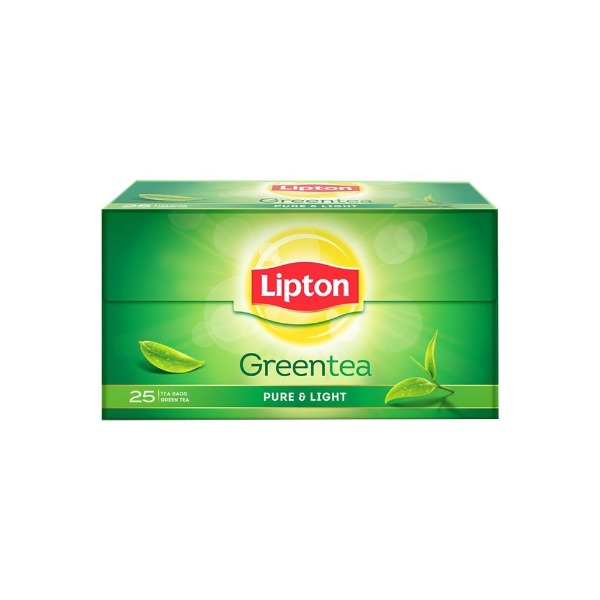 Lipton Green Tea Pure & Light ( Tea Bag ) 25 Nos , 1 Box