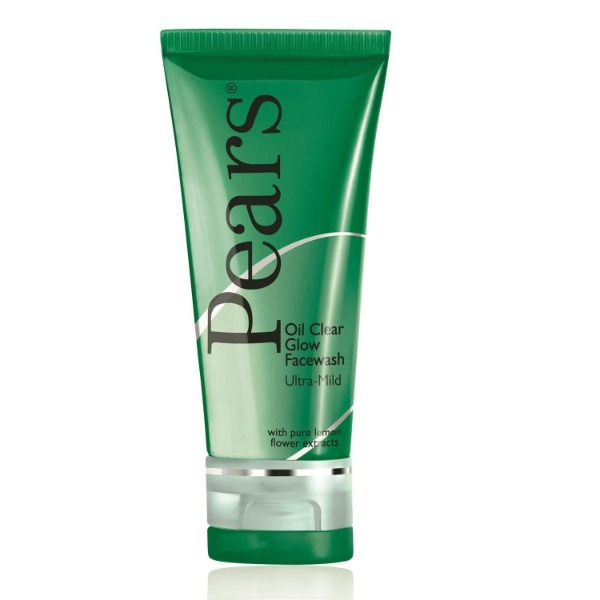 Pears Oil Clear Glow Facewash with pure lemon flower extracts 60 gms , 1 Tube