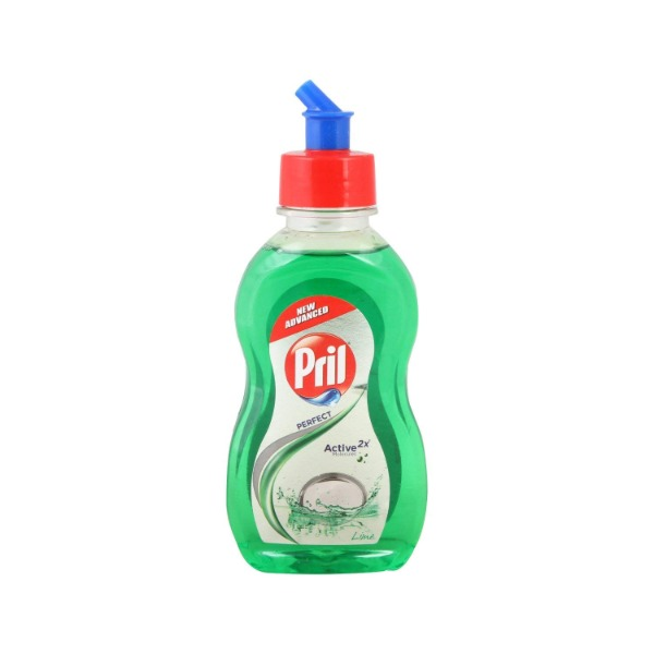 Pril Perfect Active Molecules Lime Dishwash Green Gel, 425 ml