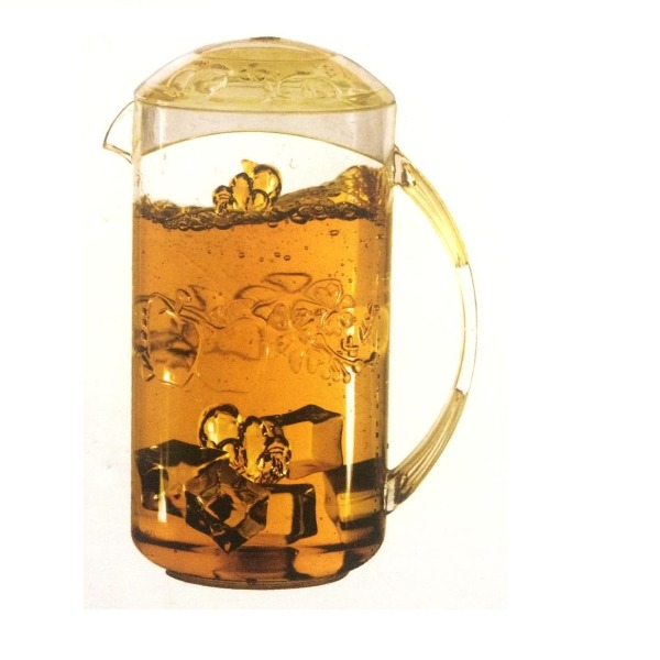 Plastic Crystal Clear Jug, 1 Pc