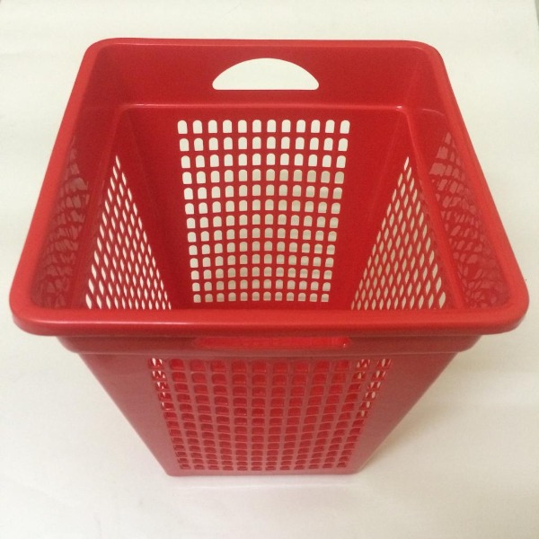 Durable Square Perforated Bins  - 1 pc