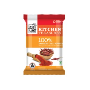 Kitchen Treasures Kashmiri Chilli Powder , 250 gms