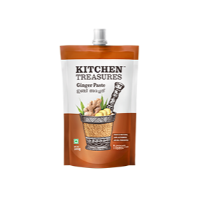 Kitchen Treasures Ginger Paste, 100 gm Pouch