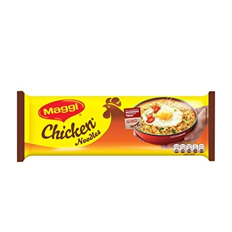 Nestle Maggi 2 Minute Noodles Chicken (4 Pack), 284 gm