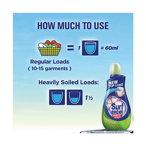 Surf Excel Matic Liquid Detergent Top Load