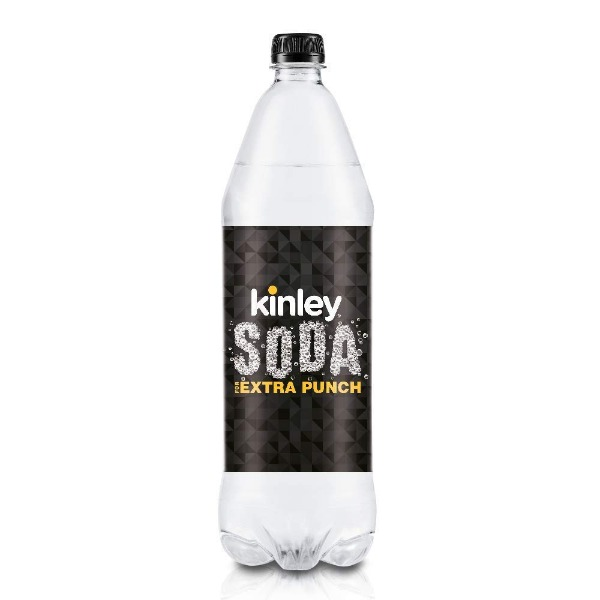 Kinley Soda for Extra Punch, 1.25 L
