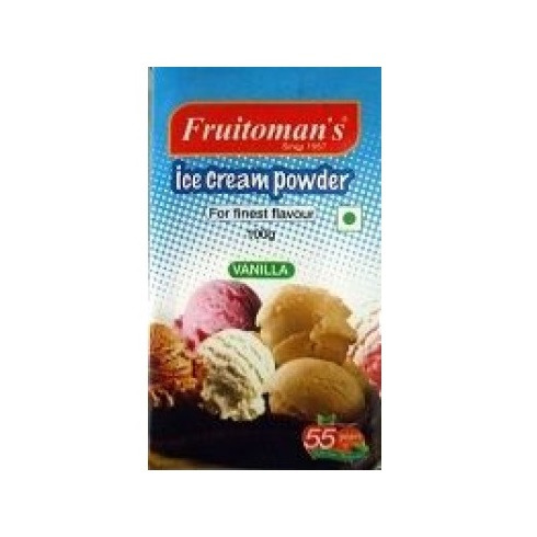 Fruitomans Ice Cream Powder Vanilla