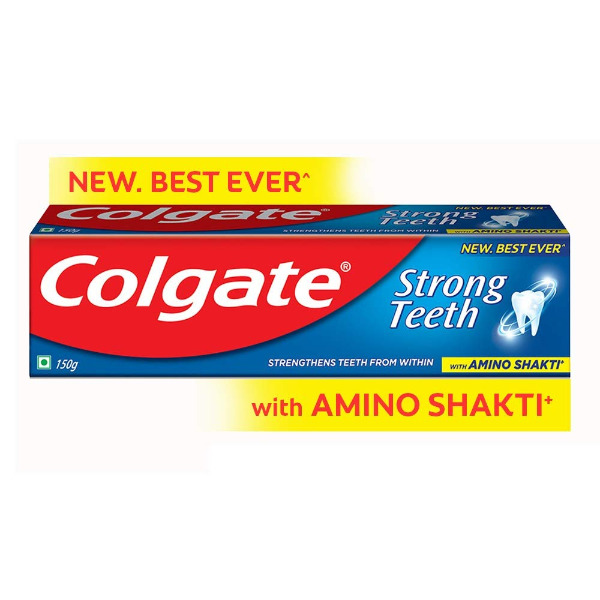 Colgate Strong Teeth Anticavity Toothpaste with Amino Shakti