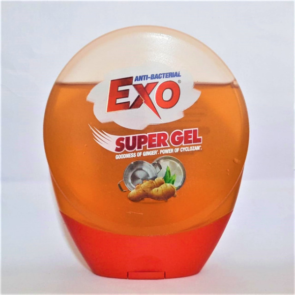 Exo Anti Bacterial Super Gel with Goodness of Ginger Power of Cyclozan, 250g