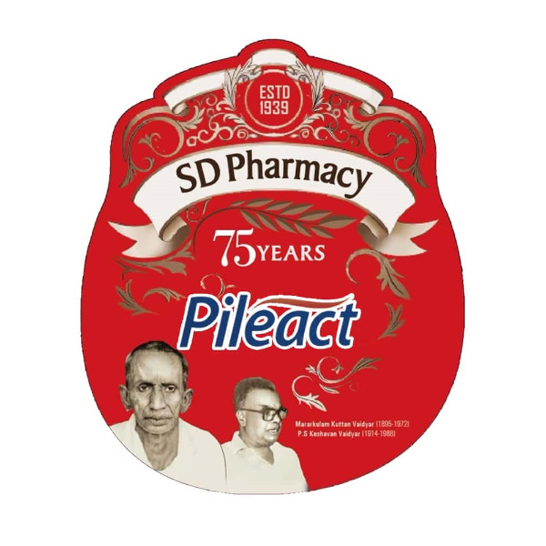 SD Pharmacy Pileact ayurvedic tablet for piles