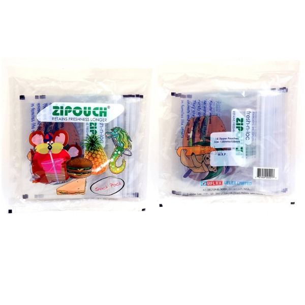 Zipouch Snack Pack (Size 13.5 cms x 15.5 cms)