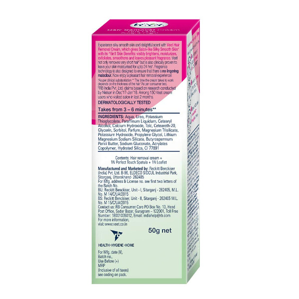 Veet Hair Removal Cream - Dry Skin - Shea Butter And Lily Fragrance