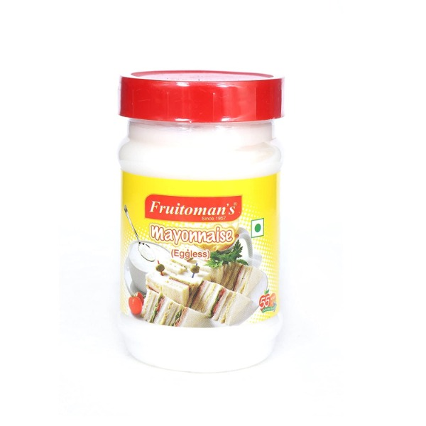 Fruitomans Mayonnaise Eggless , 300 gm