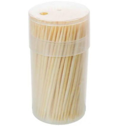 crown gold wooden tooth picks
