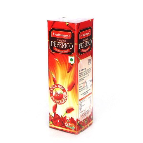 Fruitomans Peperico Red Pepper Sauce , 60 gm