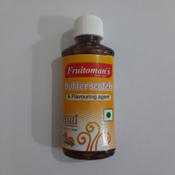 Fruitomans Butter Scotch Flouring Agent , 15 ml