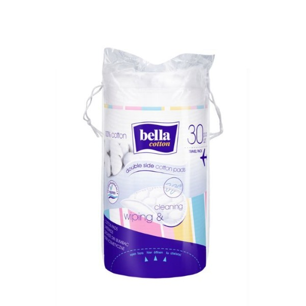 Bella Cotton Pads Wiping & Cleaning - 30 Pieces