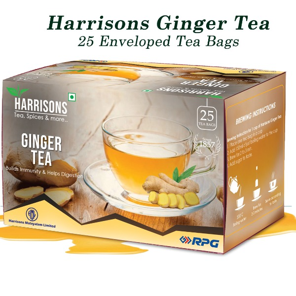 Harrisons Ginger Tea , 50 gm
