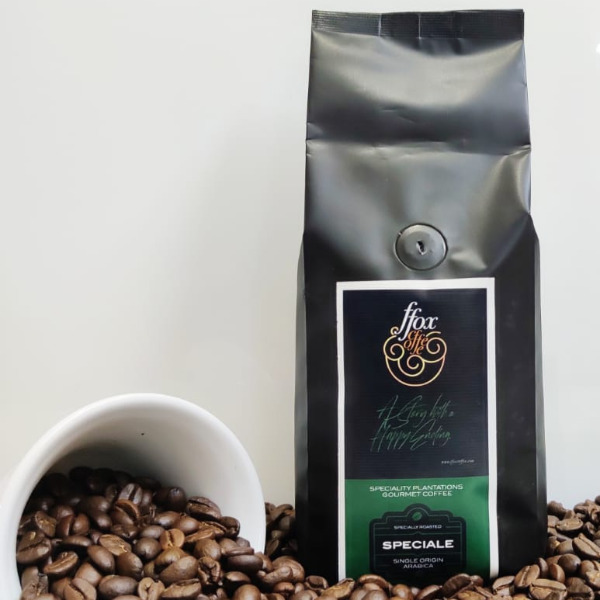 FFOX Coffee - Speciale (Whole bean / Ground coffee) , 250g Pouch
