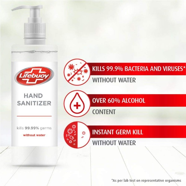 Lifebuoy Total Hand Sanitizer , 250 ml
