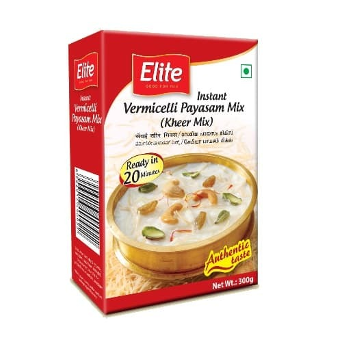 Elite Vemicelli Kheer Mix (Payasam Mix ) , 300 gm  ( ₹5/-  Off On M.R.P )