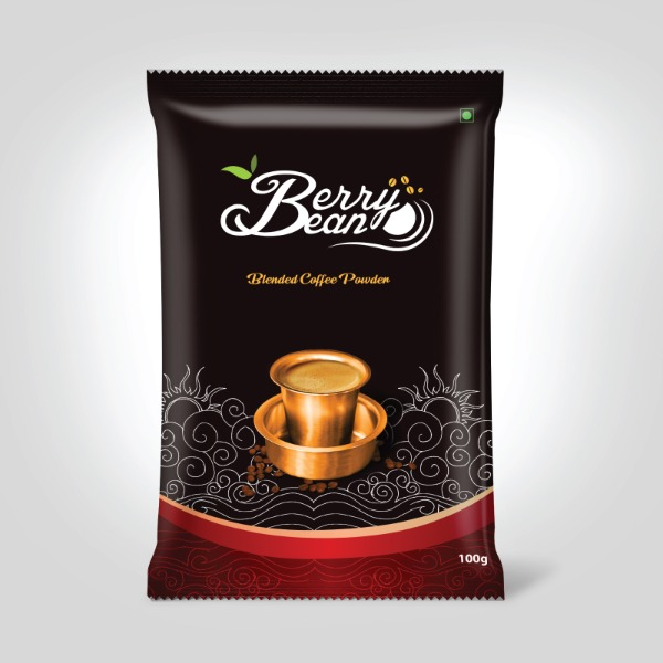 Berry Beans Blended Coffee Powder , 100 gm