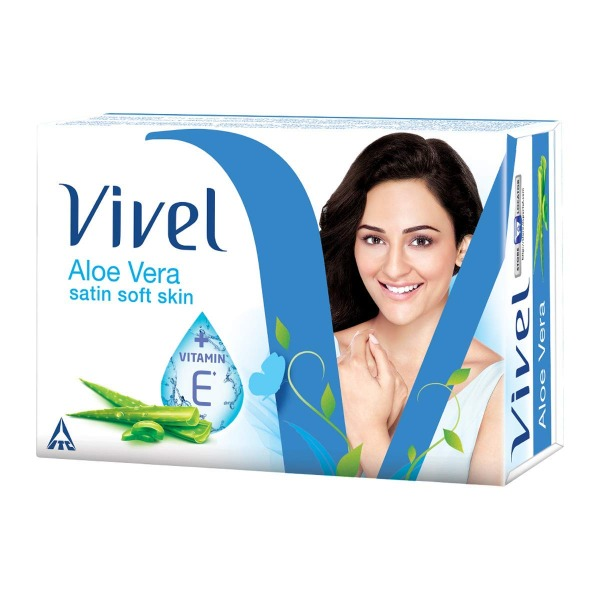 Vivel Aloe Vera Satin Soft Skin Soap , 51 gm