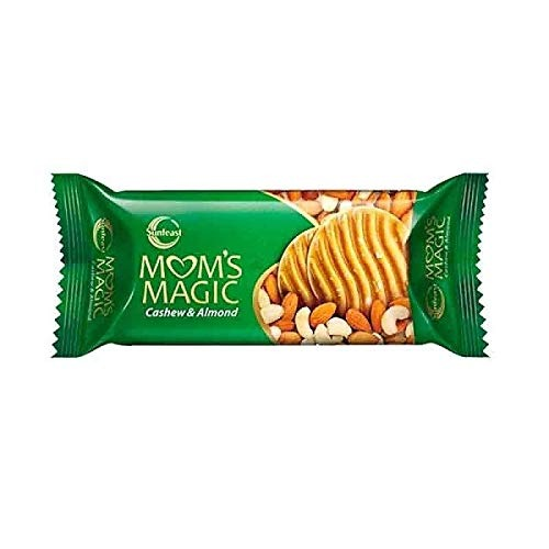 Sunfeast Mom's Magic Biscuit, Cashew and Almond, 120g