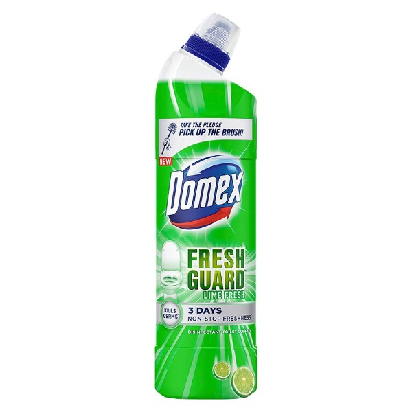 Domex Fresh Guard Lime Fresh Disinfectant Toilet Cleaner , 500 ml